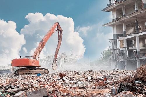 Российский рынок демонтажа зданий и сооружений